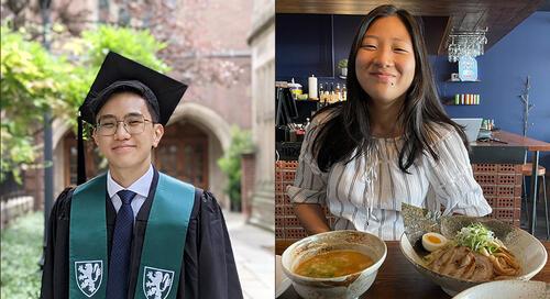 Gregory Jany and Jenna Shin