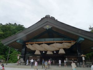 Izumo Grand Shrine, Shimane Prefecture by Bo Tao, EALL Ph.D. Student, Class of '18